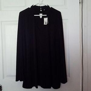 Darling Black Cato NWT Top Shirt Tunic 18/20